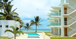 Luxury apartments on the beach