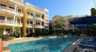 2 bedroom apartment, centre of Cabarete