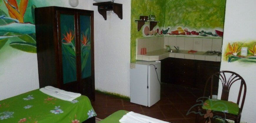 Mexican Style Hotel, only 100m from the beach