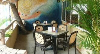 Fully equipped Restaurant with 2 one bedroom apartment