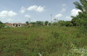 Flat building lot in gated community