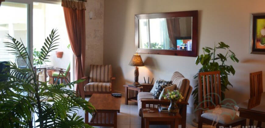 2 bedroom beach front apartment
