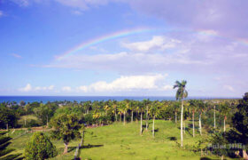 Lot for construction, with nice ocean view, close to Cabarete