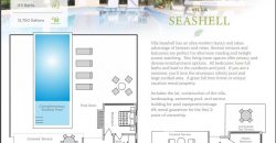 Villa Seashell mit ultramodernem Layout