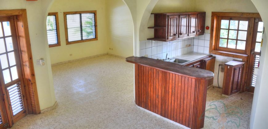 Centrally located villa steps from the beach of Cabarete