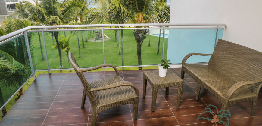 1 bedroom beachfront penthouse in Cabarete
