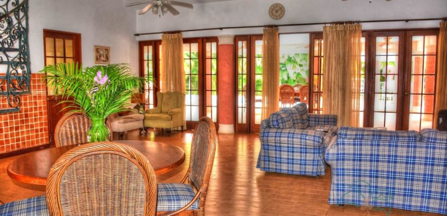 Spacy 5 bedroom villa within a gated community in Cabarete