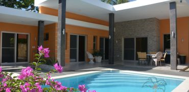 Recently build 3 bedroom villa in Cabarete