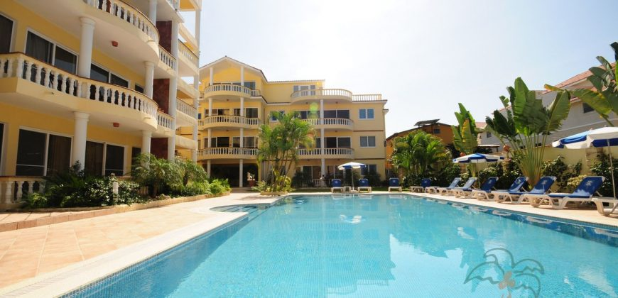 Centraly located 1 bedroom in Cabarete