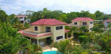 Twin villas for sale in a popular community in Sosua