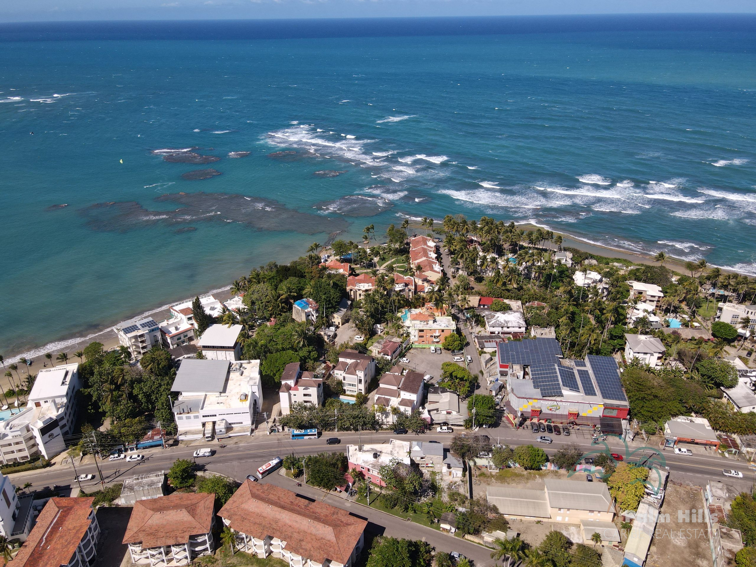 8 apartments in the center of Cabarete