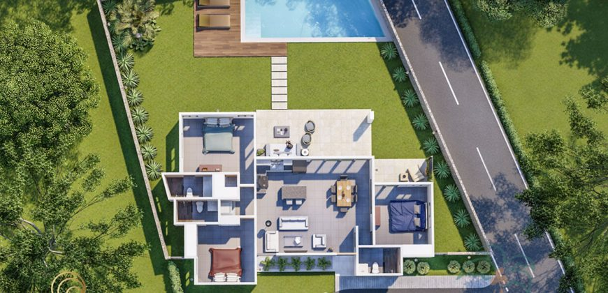 Brand new 3 bedroom modern villa