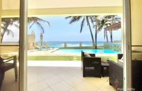 Beachfront condo in Cabarete